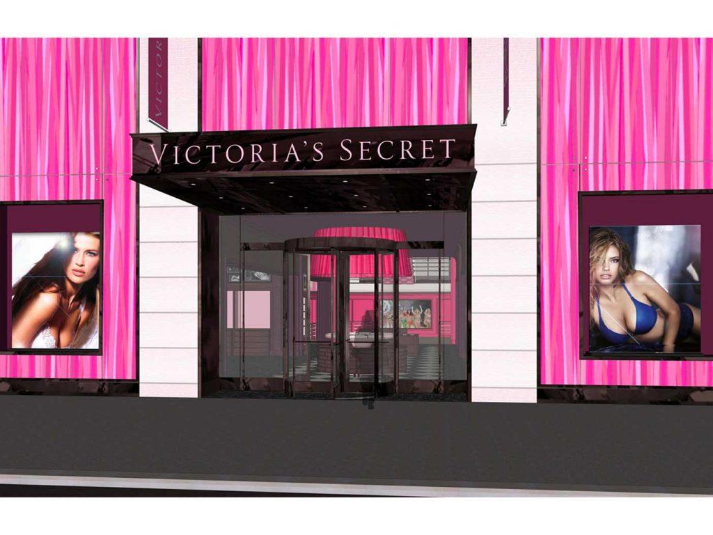 Victoria's Secret Storefront Design